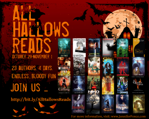 All Hallows Reads Promo graphic