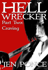Hell Wrecker Two Cover Jen Ponce Author