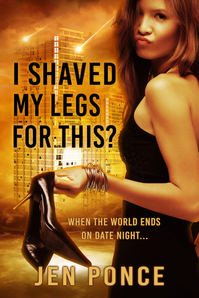 Book Cover titled I Shaved My Legs For This by Jen Ponce
